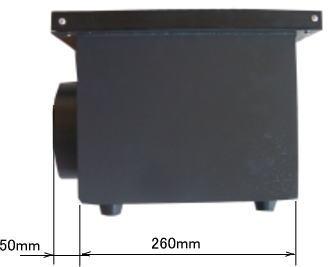 GS4030 ハニカムテーブル側面