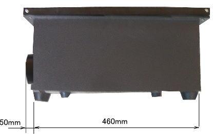 GS7050 ハニカムテーブル側面