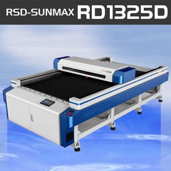SUNMAX-RD1325D ワークエリア:1300 X 2500 150W のみ選択可能です。あらゆる用途に対応可能な1クラス上の汎用レーザー加工機です。! サンマックスレーザー RSD-SUNMAX-GS-1325D