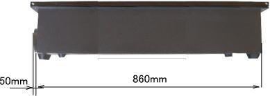 RS1290 ハニカムテーブル側面