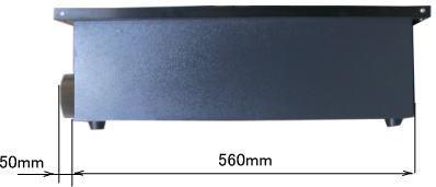 RS9060 ハニカムテーブル側面